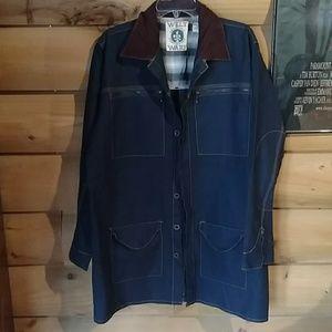 Welt Ware Denim utility jacket